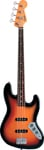 Fender Jaco Pastorius Fretless Jazz Bass 3 Color Sunburst with Case