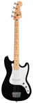 Squier Bronco Electric Bass Guitar Black