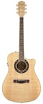 Fender T Bucket 400CE Acoustic Electric Guitar Flame Maple