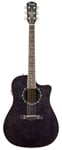 Fender T Bucket 300CE Acoustic Electric Guitar Black Flame