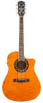 Fender T Bucket 300CE Acoustic Electric Amber Quilt