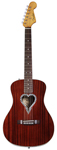 Fender Alkaline Trio Malibu Acoustic Guitar Natural