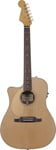 Fender Sonoran SCE Left Handed Acoustic Electric Guitar Natural