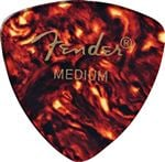 Fender 346 Shape Classic Celluloid Guitar Picks 12 Pack Shell Medium