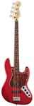 Fender Deluxe Active Jazz Electric Bass Guitar Candy Apple Red wGigBag