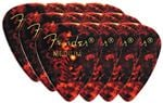 Fender 351 Shape Classic Picks 12 Pack Shell Medium