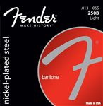 Fender Super 250B Nickel Plated Steel Baritone Guitar Strings
