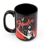 Fender Jimi Hendrix Peace Sign Mug