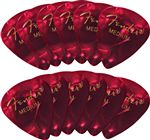 Fender 351 Premium Celluloid Guitar Picks 12 Pack Medium