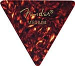 Fender 355 Shape Classic Celluloid Guitar Picks 12 Pack Shell Medium