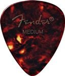 Fender 451 Shape Classic Celluloid Guitar Picks 12 Pack Shell Medium
