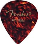 Fender 551 Shape Classic Celluloid Guitar Picks 12 Pack Shell Medium