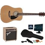 Fender FA-200 A/E Guitar and Rock Prodigy Software Package