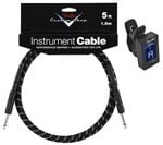 Fender Custom Shop Black Tweed Guitar Instrument Cable