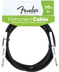 Fender Black Guitar Instrument Cable 10 Foot