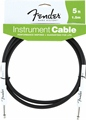 Fender Black Guitar Instrument Cable 5 Foot