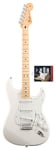 Fender Standard Strat Artic White and Texas Special Pickup Set