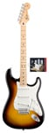 Fender Standard Strat Brown Sunburst and Texas Special Pickup Set