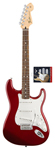 Fender Standard Strat Candy Apple Red and Texas Special Pickup Set