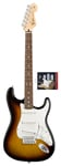 Fender Standard Strat Rosewood Guitar and Texas Special Pickup Set