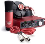Focusrite Scarlett Studio USB Audio Interface Recording Package