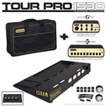 Friedman Tour Pro 1530 Pedal Board Power Grid Buffer Bay and Pro Bag
