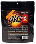 GHS GBM 5 Electric Guitar Boomers 5 Pack with Free Set