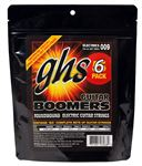 GHS GBXL 5 Electric Guitar Boomers 5 Pack with Free Set