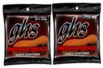 GHS Phosphor Bronze 6 String Acoustic Guitar Strings