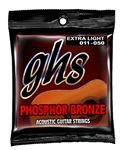GHS S315 Phosphor Bronze 6-String Acoustic Guitar Strings 11-50