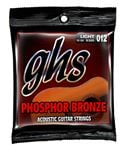 GHS S325 Phosphor Bronze 6-String Acoustic Guitar Strings 12-54