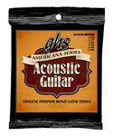 GHS S435 Americana Phosphor Bronze Acoustic Guitar Strings