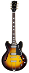Gibson ES390 Figured Top Electric Guitar Vintage Sunburst with Case