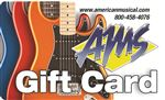 American Musical Supply Gift Card