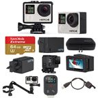 GoPro Hero4 Black Music Video Pack with 64GB microSD Card