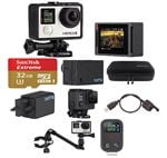GoPro Hero4 Silver Music Video Pack with 32GB microSD Card