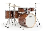 Gretsch Catalina Maple 6 Piece Shell Kit Drums Free Tom Walnut Glaze