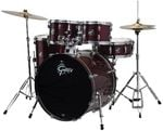 Gretsch Renegade 5 Piece Drum Set with Cymbals and Throne