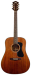 Guild GAD D125 Mahogany Dreadnought Acoustic Guitar with Case