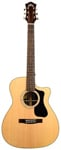 Guild GAD F130RCE Orchestra Acoustic Electric Guitar Natural