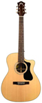 Guild GAD F130RCE Orchestra Acoustic Electric Guitar with Case