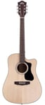 Guild GAD D140CE Dreadnought Acoustic Electric Guitar with Case