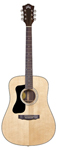 Guild D150L Dreadnought Left Handed Acoustic Guitar Natural