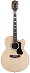 Guild F150RCE Jumbo Cutaway Acoustic Electric Guitar with Case