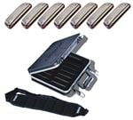 Hohner Golden Melody Harmonica 7 Pack with Case and Belt