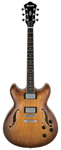 Ibanez Artcore AS73 Semihollow Electric Guitar Tobacco Brown