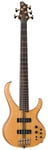 Ibanez BTB1405E Premium 5 String Bass Guitar with Bag Natural