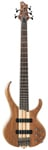 Ibanez BTB675 5 String Electric Bass Guitar Natural