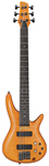 Ibanez GVB36 Gerald Veasley Signature 6 String Bass Guitar Amber