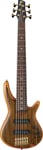 Ibanez SR1206 6 String Premium Bass Guitar with Bag Natural